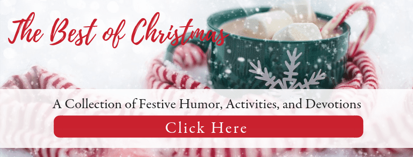 Enjoy the best of Christmas at GingerHarrington.com's Christmas Corner, a collection of festive humor, meaningful activities, and inspiring devotions to keep your heart focused on Christ this Christmas.