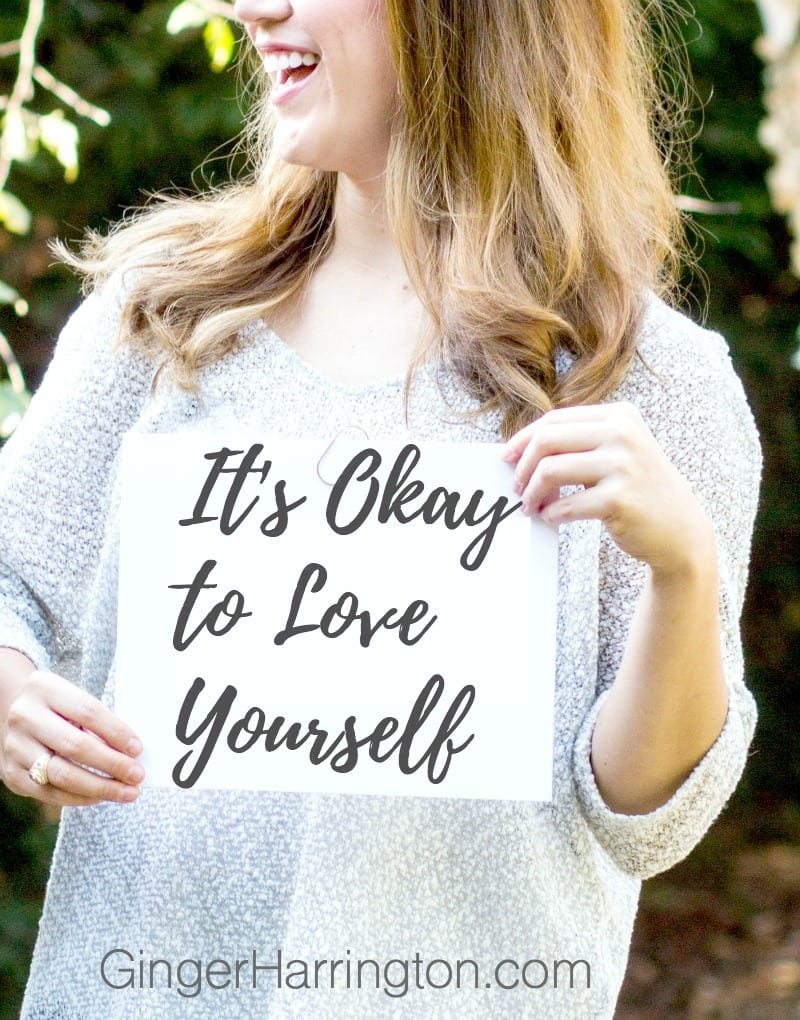 It's Okay to Love Yourself. Love your neighbor as yourself. Why is it so hard to talk about loving ourselves?