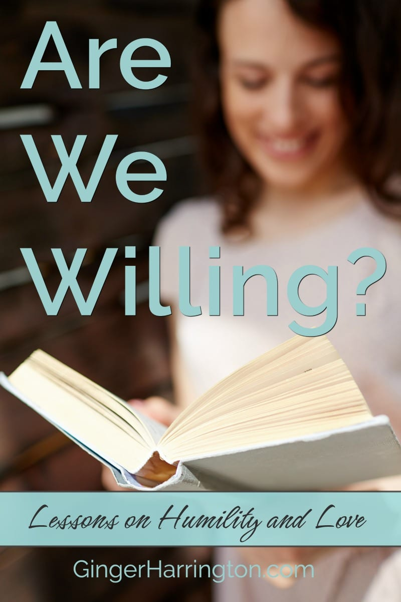 Are We Willing? Lessons on Love and Humility from the Last Supper. #Easter #Bible #Jesus