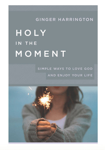Holy in the Moment, a book by Ginger Harrington releasing in March 2018.