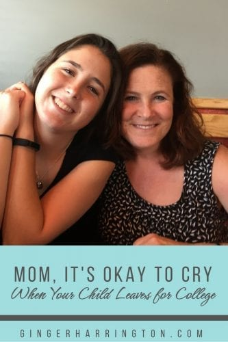 Mom It S Okay Cry When You Leave Your Child At College