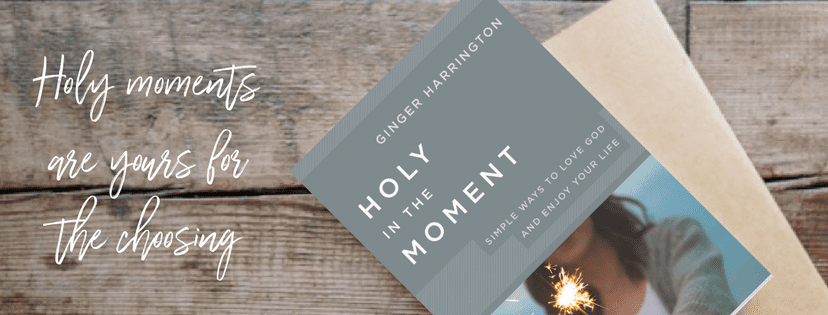 Holy moments are yours for the choosing. Discover the practical difference holy moments can make in your life. Holy in the Moment by Ginger Harrington releases March 6, 2018.
