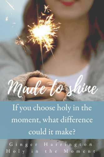 So much more than a religious version of perfectionism, holiness is a secret to enjoying life with freedom and joy. Offer your moments to God and trust Him to make you holy and whole, living well in the choices you make today.