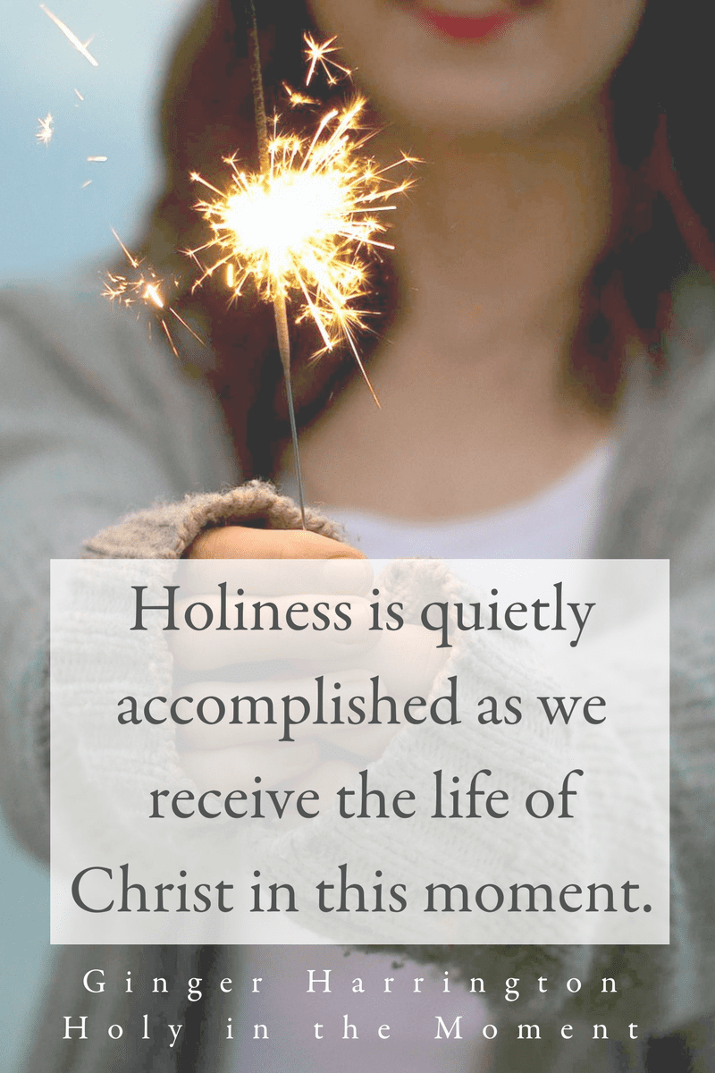 approaches holiness from the perspective of wholeness and healing. Packed with truths, ideas, and stories that will encourage women to make the practical and holy choice to rely on Christ in the moment. This book approaches holiness as a gift to receive rather than a standard to keep. Dispelling the idea that perfectionism is merely a religious version of holiness, Holy in the Moment shares my personal journey in finding hope and healing for anxiety as well as biblical insights, and simple ideas to enjoy a deeper life and freedom in our identity in Christ.
