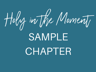Dispelling the idea that holiness is not a religious version of perfectionism, Holy in the Moment includes Ginger's personal journey in finding help and hope for anxiety as well as biblical insights, and simple ideas to enjoy a deeper life and freedom in our identity in Christ.
