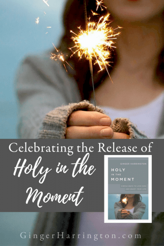 Celebrating the release of Holy in the Moment with a book giveaway!