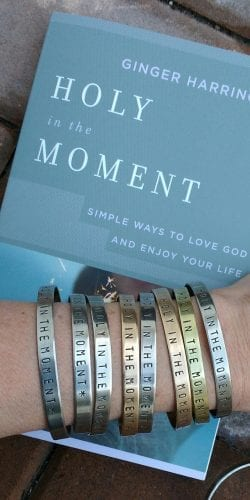 Enjoy a beautiful reminder to choose holy in the moment. Hand-crafted bracelet from Witt 'N Whimsy. Order from Etsy at http://etsy.me/2p5y2W5 or contact via Instagram: @wittnwhimsyjewelry.