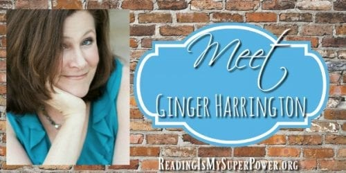 Meet author of Holy in the Moment, Ginger Harrington, in this fun interview at Reading is my Superpower. Join Ginger and Carrie for a personable and informative look at Holy in the Moment and the authors who have influenced Ginger's writing.