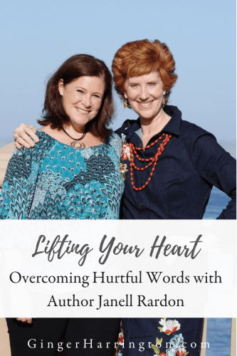 Lifting Your Heart: An author interview with Janell Rardon. Janell's book Overcoming Hurtful WordsHurtful words can steal joy, distort truth, & create long-term struggles with understanding your value, worth and dignity. By using The Heartlift Method, learn to speak healing words to yourself and to everyone in your sphere of influence. Consider me your personal heartlift specialist. I am here to guide you through the three phases of your heartlift and lead you into true freedom.