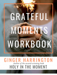 Gratitude can make your life better in many ways. Cultivate the habit of gratitude with this free workbook from Ginger Harrington, author of Holy in the Moment. Make your moments matter with a grateful heart.