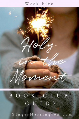 Join us for Week Five of the Holy in the Moment Book Club at GingerHarrington.com. This week we are discussing chapters 13-14 as we dig into the topic of loving others well.