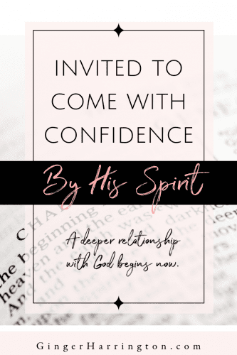 God invites us into a deeper relationship by the power of the Holy Spirit in a variety of ways. By His Spirit we are invited to come into his presence with confidence. We enter by permission, not by performance. A deeper relationship with God begins now. #relationshipwithGodquotes #faith #spiritualgrowth #trustGod #trustGodquotes