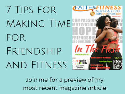 7 Tips for Making Time for Friendship and Fitness