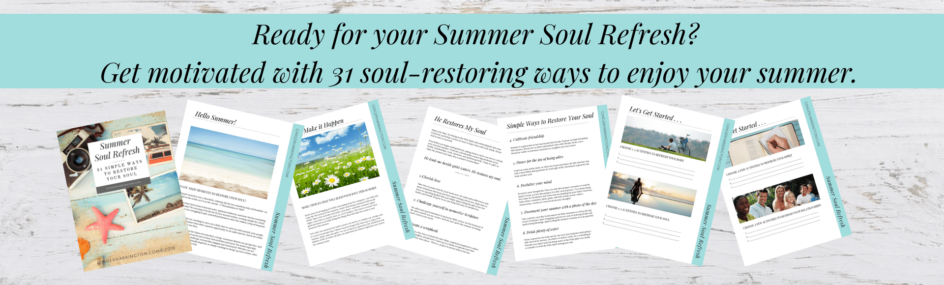 Break up with busy with 31 of our best ideas to refresh your soul this summer. Simple inspiration for Christian women to take time to nurture their soul this summer.