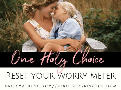 Reset Your Worry Meter