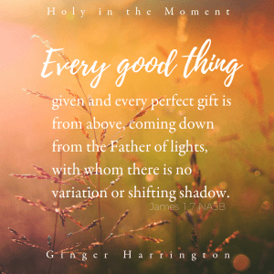 How do we love God more than the things that bring us the most delight and pleasure in life? When we remember that every good gift is from our Father, let the gift draw your attention and gratitude to God.