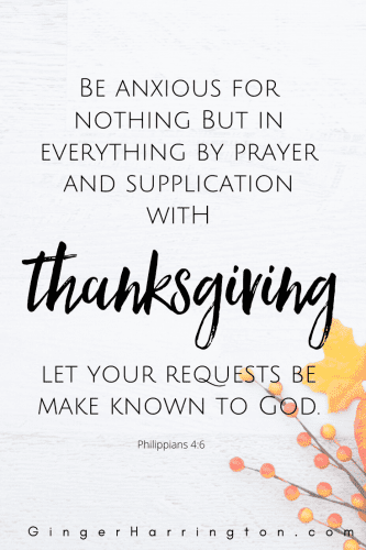 On our best days and even on our worst, thankfulness matters. An integral part of prayer, giving thanks opens the door to experiencing God's peace.