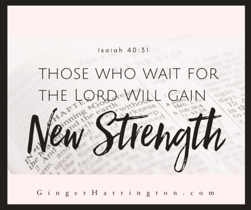 After weeks of staying home due to the novel coronavirus, many of us need strength to stay positive, to overcome stress, and to make the most of this unprecedented time. Discover how to find strength to overcome your challenge with biblical wisdom on receiving God's new strength promised in Isaiah 40:31.  #overcomer #covid19 #coronavirus #strength #stayathome #stayhome #staystrong #waitingforgod