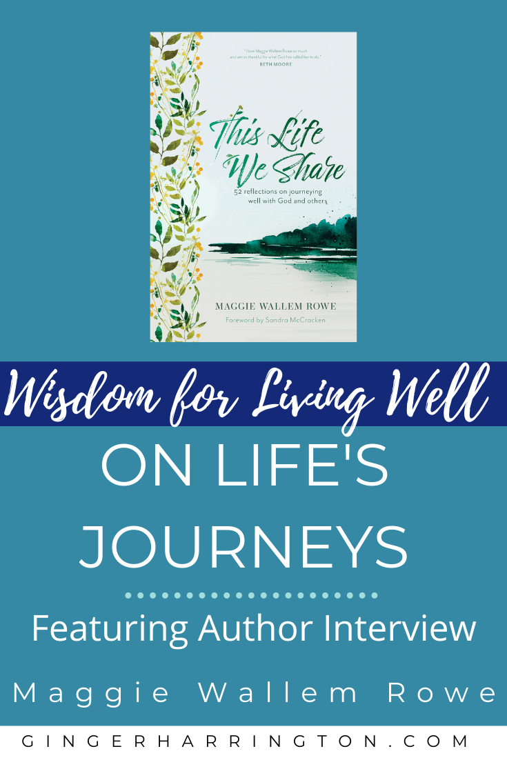 Wisdom for living well on life's journey helps us to deepen our relationships with God and others. Intentional living that aligns our lives with God's truth is the gift of journeying well with God, ourselves, and others. These are the daily building blocks of a whole and holy life. #christianliving #bookreviews #authorinterviews #wisdomforlife #wisdomquotes #inspirationalquotes