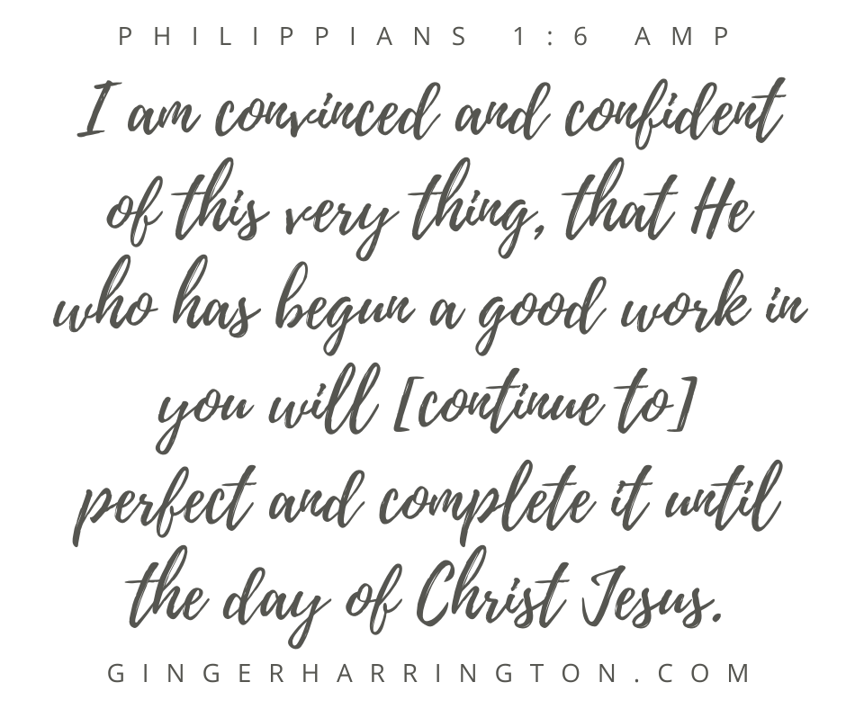 The art of living by faith rather than feelings comes down to remembering that God is continually doing a good work in and through us. Resist the temptation to allow your feelings to rob you of confidence in Christ. Christian inspiration for women seeking a deeper faith in God to thrive in identity in Christ.
