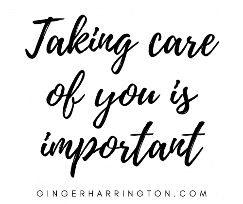 Taking Care of You is Important Learning to attend to our needs, physical, mental, emotional, and spiritual is a crucial aspect of soul care. Don't lose yourself in caring for others. Don't discount the toll anxiety may be making on you.