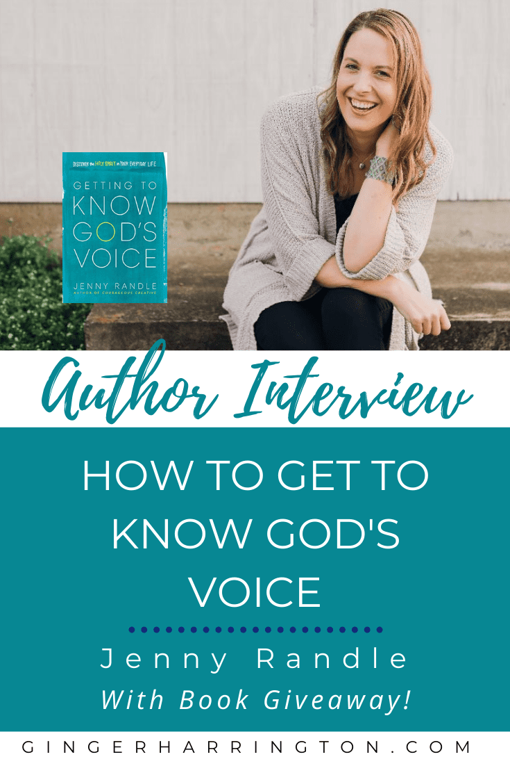 Get to know God's voice with helpful truths and encouragement from Ginger Harrington and Jenny Randle. Author interview, book review, and book giveaway will equip you to hear God more clearly. Biblical truth, inspiration, and practical tips for Christian women to ignite spiritual growth by listening to God.