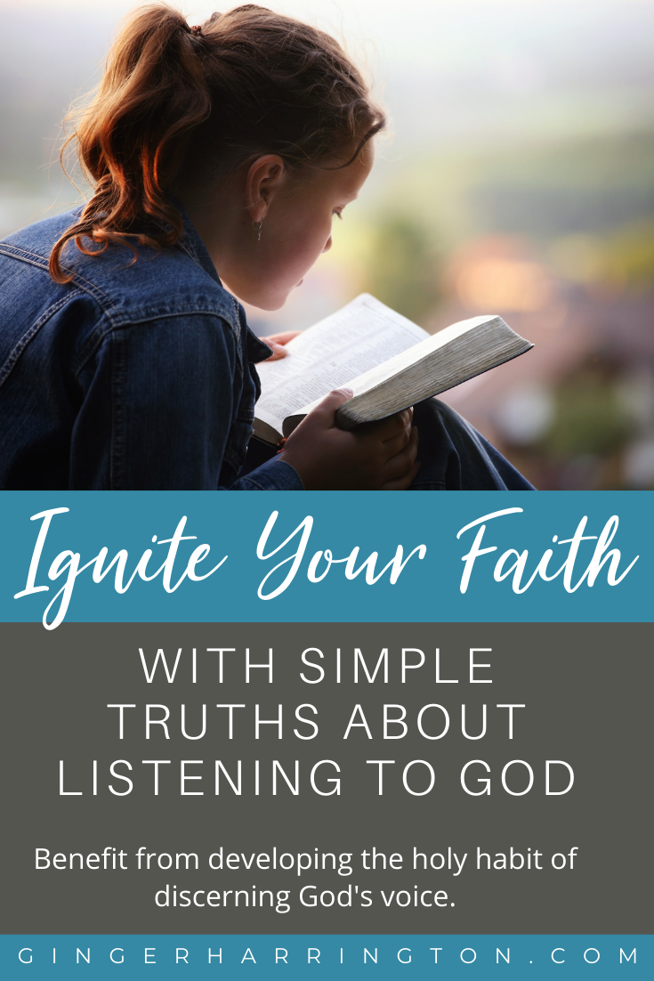 Simple truths about listening to God from Isaiah 50:4-5 can ignite your faith . Hearing God strengthens our souls and deepens our relationship with God. Benefit from developing the holy habit of discerning God's voice.