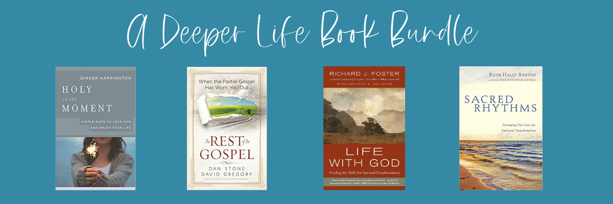 Book Bundle Giveaway for a Deeper Life