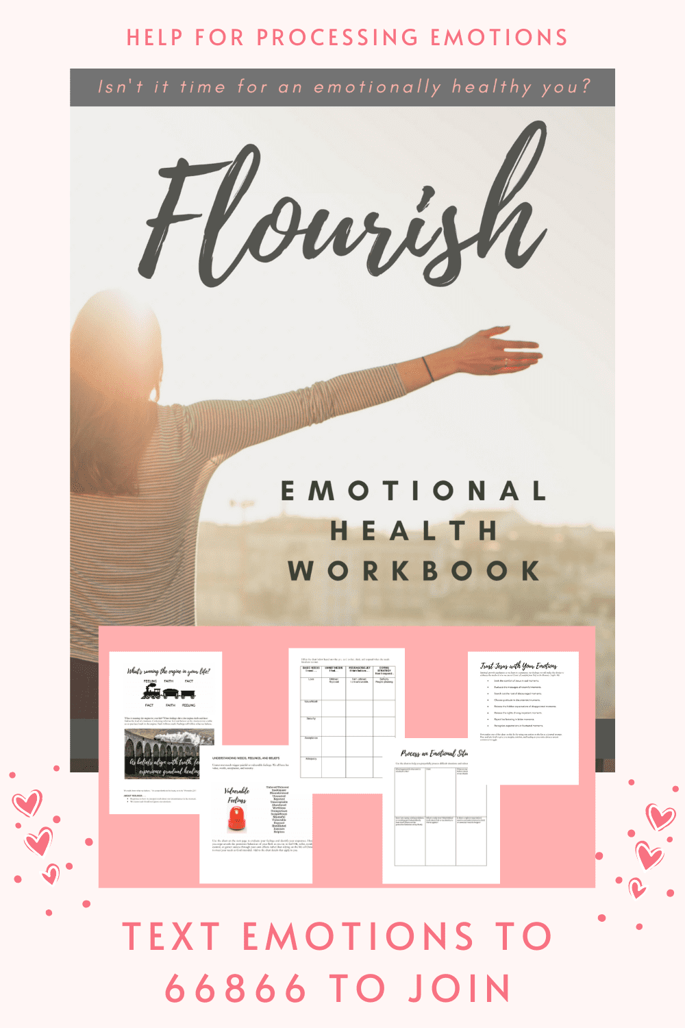 Devotional Workbook from Ginger Harrington will help you understand and process feelings for an emotionally healthy you. Learn practical tools for the deep soul work of processing your emotions with God.