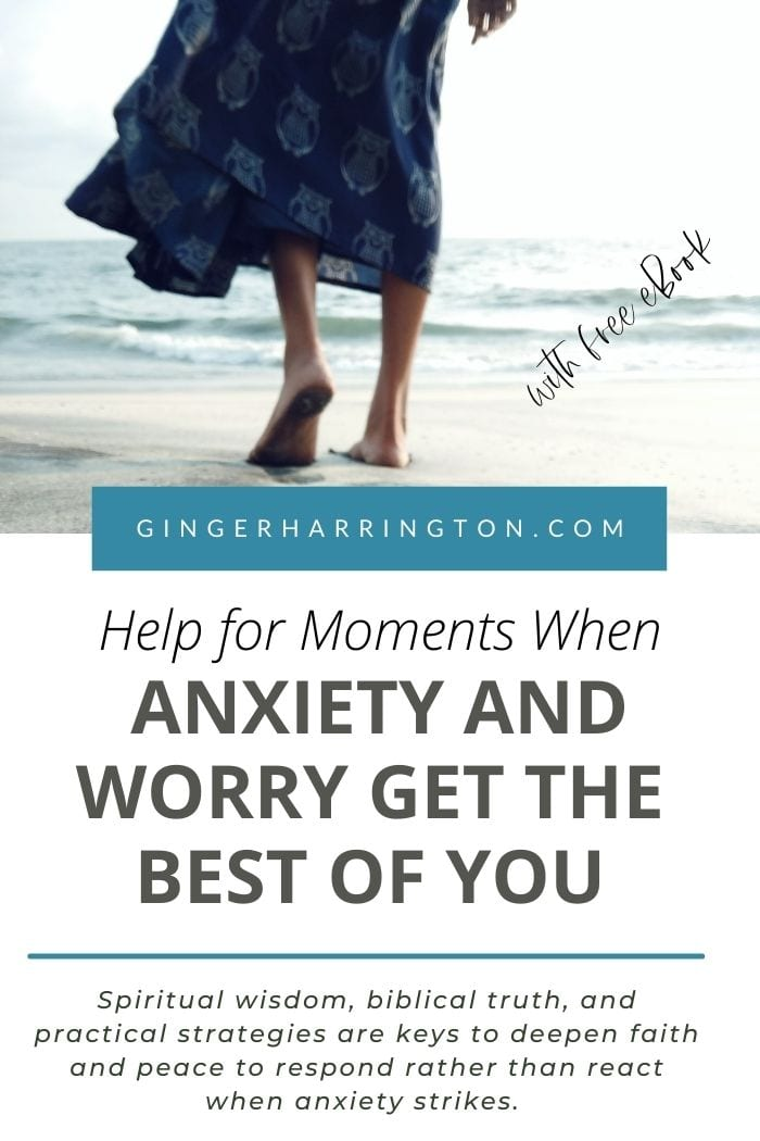 Overcome anxiety and worry with biblical truth and practical tips. Don't let fear get the best of you, but learn to respond in healthy ways.