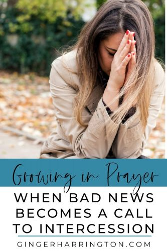 When bad news impacts those you love, prayer becomes a vital source of strength. Trials have a way of creating a call to intercede, as we turn to God on behalf of others.Holding onto faith in the midst of the struggles of family and friends, prayer becomes a powerful part of God's work in their lives. It also opens the door to growing in prayer as the Holy Spirit helps us to pray as the situation needs. Trials teach us to pray from the deep, vulnerable places of our heart.